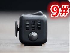 Stress Relief & Focusing Fidget Cube for ADHD Kids Adults, Color Black Navy Blue, Free Shipping