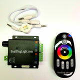 RGB color changing/music remote
