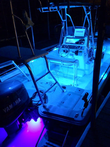 Gunwale RGB accent light pods