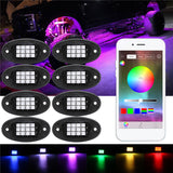 5150 LED Deck Lights remote and BlueTooth controlled