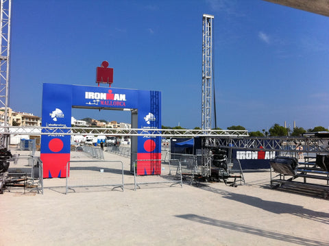 IM Mallorca finish line in construction;)