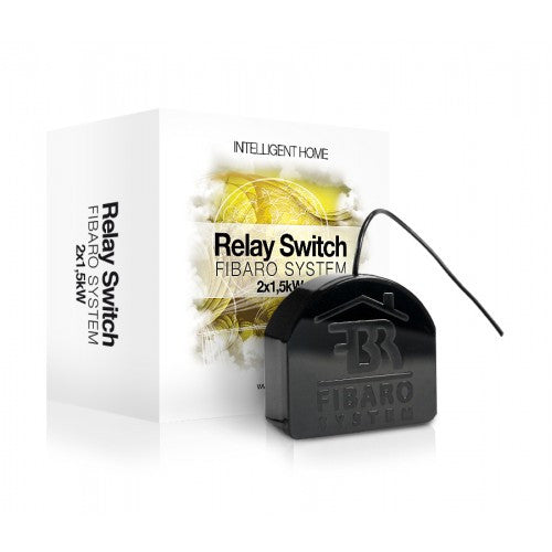 Interruptor de relé FIBARO Relay Switch 2x1,5kW