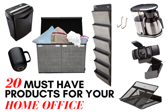 20 Must Have Products for Your Work From Home Office