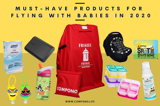 Must Have Products for Flying with Babys in 2020