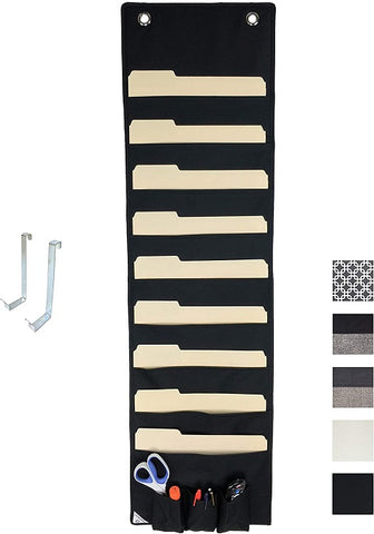 COMPONO Hanging File Organizer and Wall File Holder