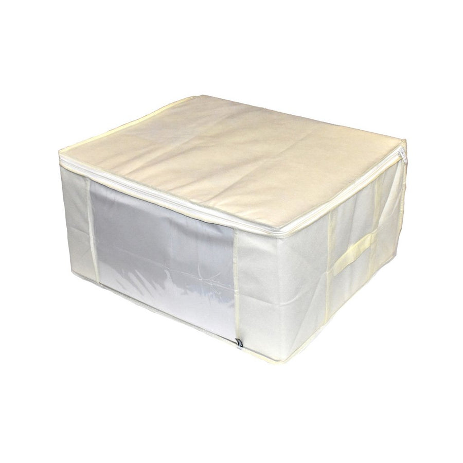 White Cream Storage Cube for Clothing