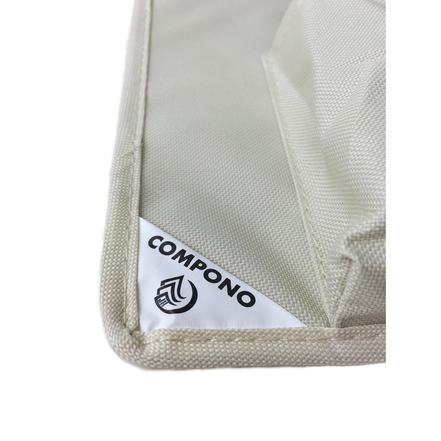 COMPONO Logo on Cream File Folder Organizer