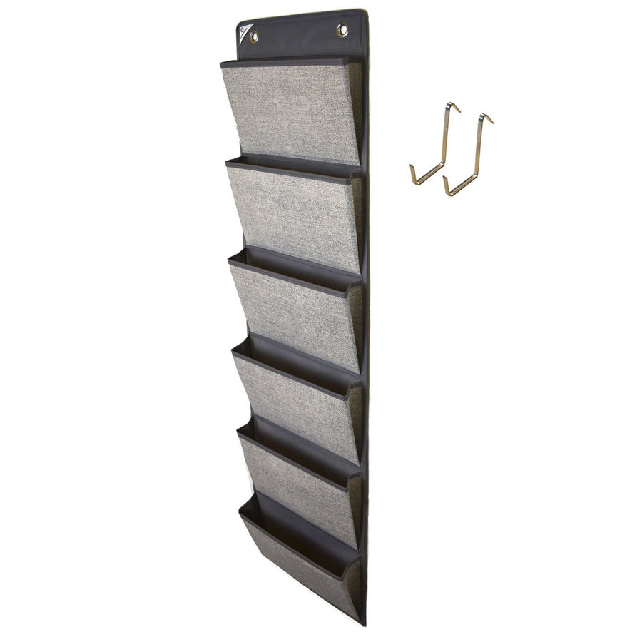 COMPONO Over Door Grey Office Supply Organizer