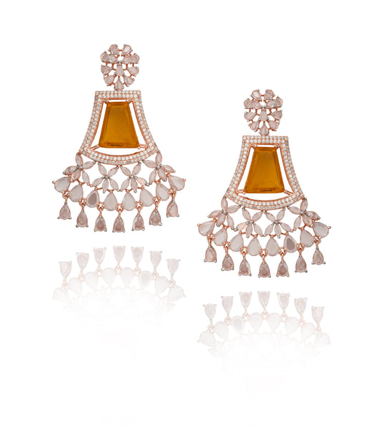 CASSANDRA EARRINGS YELLOW