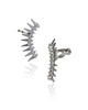Rocker Spiked Crystal Ear Cuff