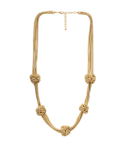Golden Rope 'Nina' Necklace