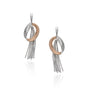 Pavé and Marquee Cascading 'Rhonda' Earrings