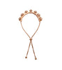 Rose Gold Pavé Crystal Rocker 'Ronni' Bracelet