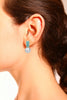 SARA EARRINGS WHITE