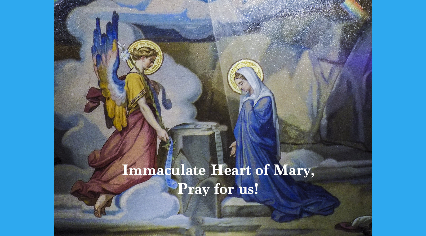 Today Dec. 8 Solemnity of the Immaculate Conception of the Blessed Virgin Mary Happy Feast Day!