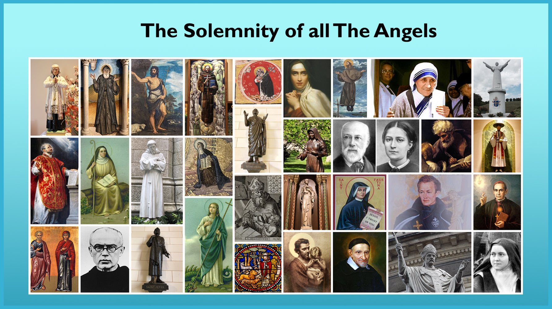 The Feast of The Solemnity of All Saints