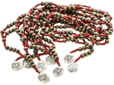 10 Saint Michael Chaplet Rosary & 10 Pocket Prayer Booklets