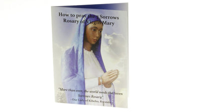 7 Sorrows Rosary Prayer Booklet