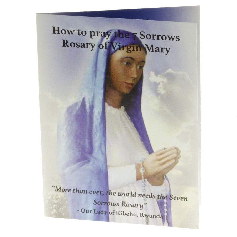 50 Seven Sorrows Rosary Pocket Prayer Booklets