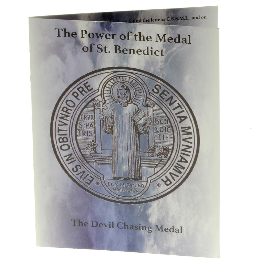 100 Saint Benedict Pocket Prayer Booklets