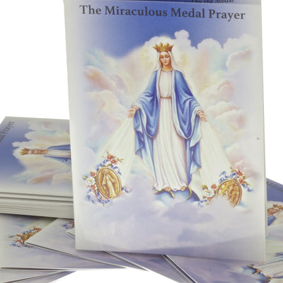 50 The Miraculous Medal Pocket Praying Booklets