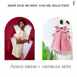 Adele Dress + Georgia Mini - Imad Eduso  Dress SS18