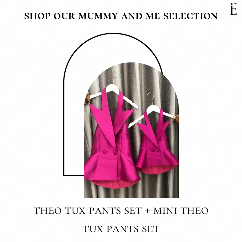 Theo Pants set + Mini Theo Pants Set - Imad Eduso  Co-ords SS18