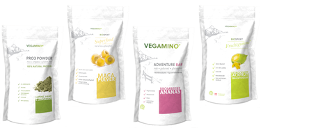 VEGAMINO® - Super Sample Set - Fitness