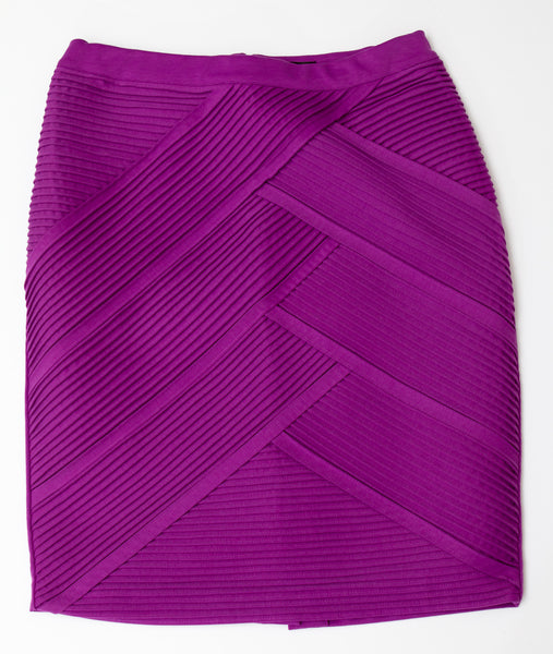 Lane Bryant Purple Pencil Skirt - Size 14