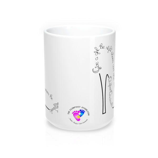 Clubfoot Cinderella - Mug 15oz (Customize Me!)
