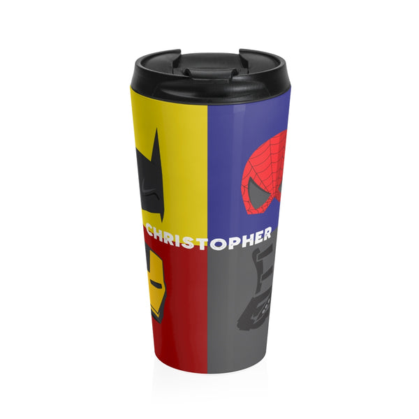 Superhero ADM Mug - Stainless Steel Travel Mug | Customize me! (New! Christmas 2018)