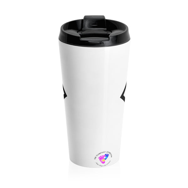 Super Clubfoot Mom - Stainless Steel Travel Mug | Customize me! (New! Christmas 2018)