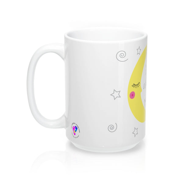 I Love my Clubfoot Cutie to the Moon & Back - 15 oz Mug - (Customize Me!)