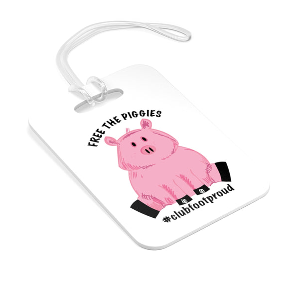 Free the Piggies -  Medical Stoller & Carseat or Wheelchair Tag