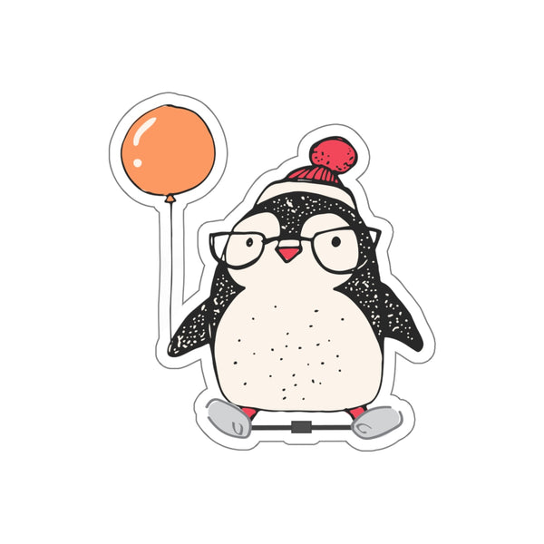 Penguin Clubfoot - Kiss-Cut Stickers