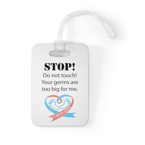 Stop! Don't Touch - Bag Tag
