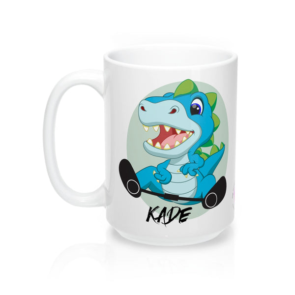 Green Dino - Mug 15oz (Customize Me!)