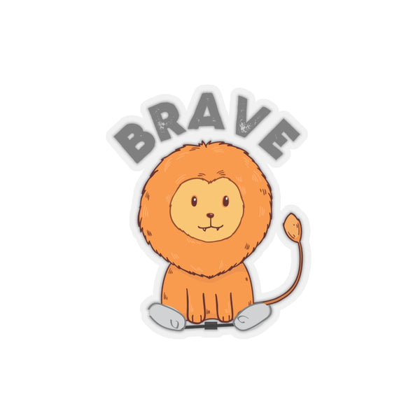 Lion BRAVE BNB - Kiss-Cut Stickers