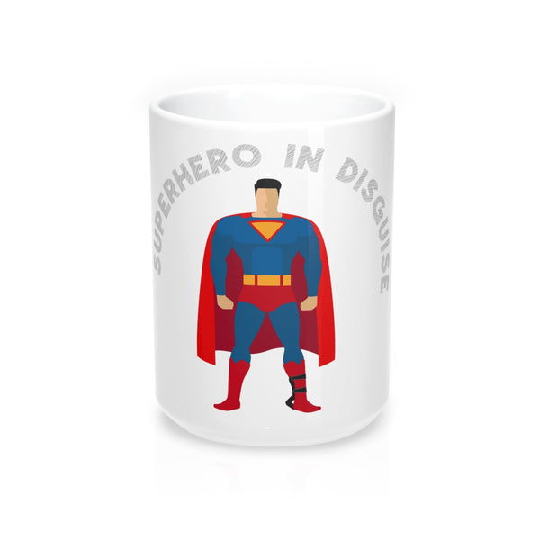 Superhero In Disguise - ADM - Mug 15oz