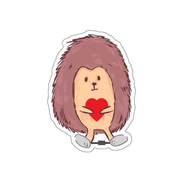 Clubfoot Hedgehog - Kiss-Cut Stickers