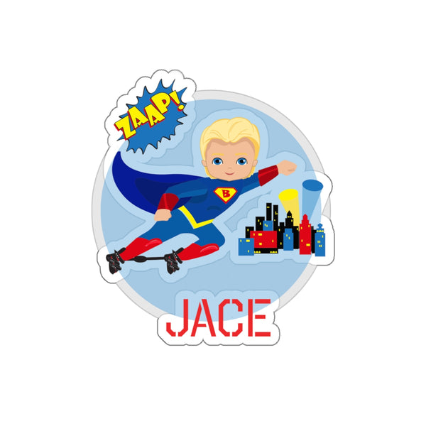 Superhero Clubfoot Boots and Bar Cutie (2) - Custom - Kiss-Cut Stickers