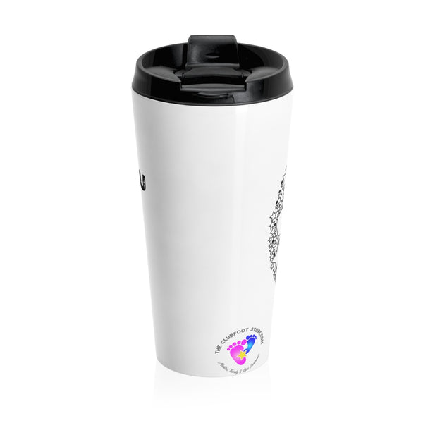 I love you to the Moon & Back - Stainless Steel Travel Mug | Customize me!