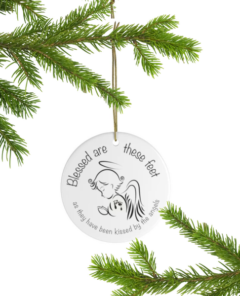 Blesed are these Feet - Christmas 2019 Ornament