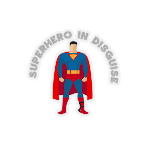 Clubfoot Glory Superman Style (ADM)  Kiss-Cut Stickers