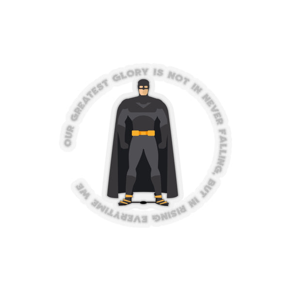 Clubfoot Glory Batman Style - Kiss-Cut Stickers