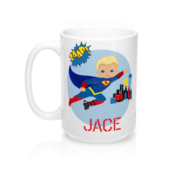 Superboy ADM - Blonde - Mug 15oz (Customize Me!)Mug 15oz