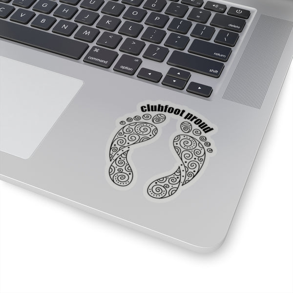 Clubfoot Proud - Kiss-Cut Stickers