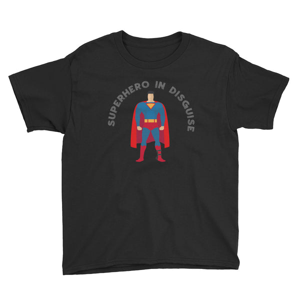 Superhero in Disguise - DAY ADM - Youth Short Sleeve T-Shirt