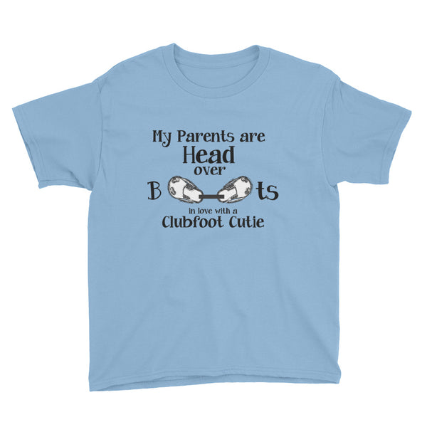 Head over Boots -  MY PARENTS - Youth Short Sleeve T-Shirt