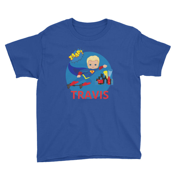Superhero BNB (3) Custom - Youth Short Sleeve T-Shirt